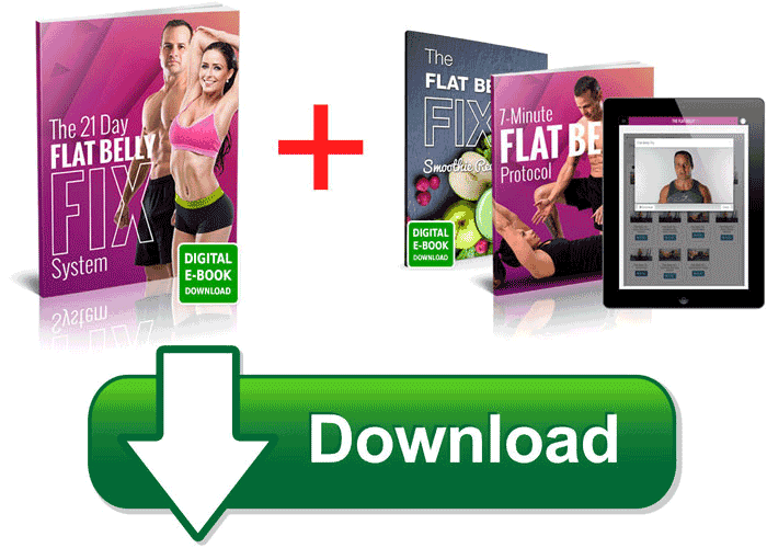21 days Flat Belly Fix is an online weight loss program that guides you through the steps to forming new, healthy habits for both your mind, diet and activity levels